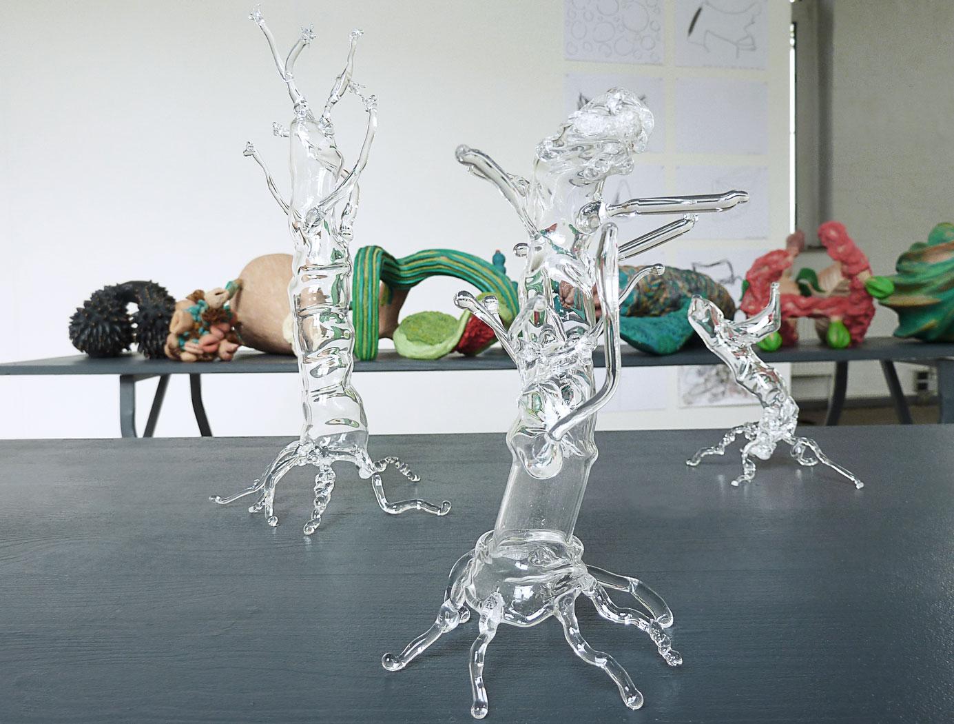 Reiner Maria Matisyk : Glasarbeiten / Wesen