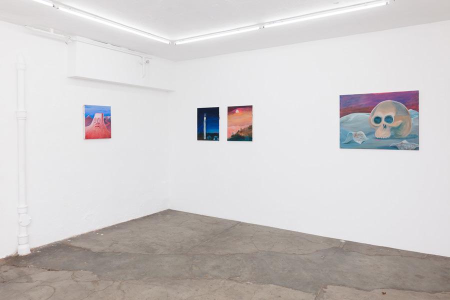 Einzelausstellung despair air, Artists Unlimited Galerie in Bielefeld, 2017