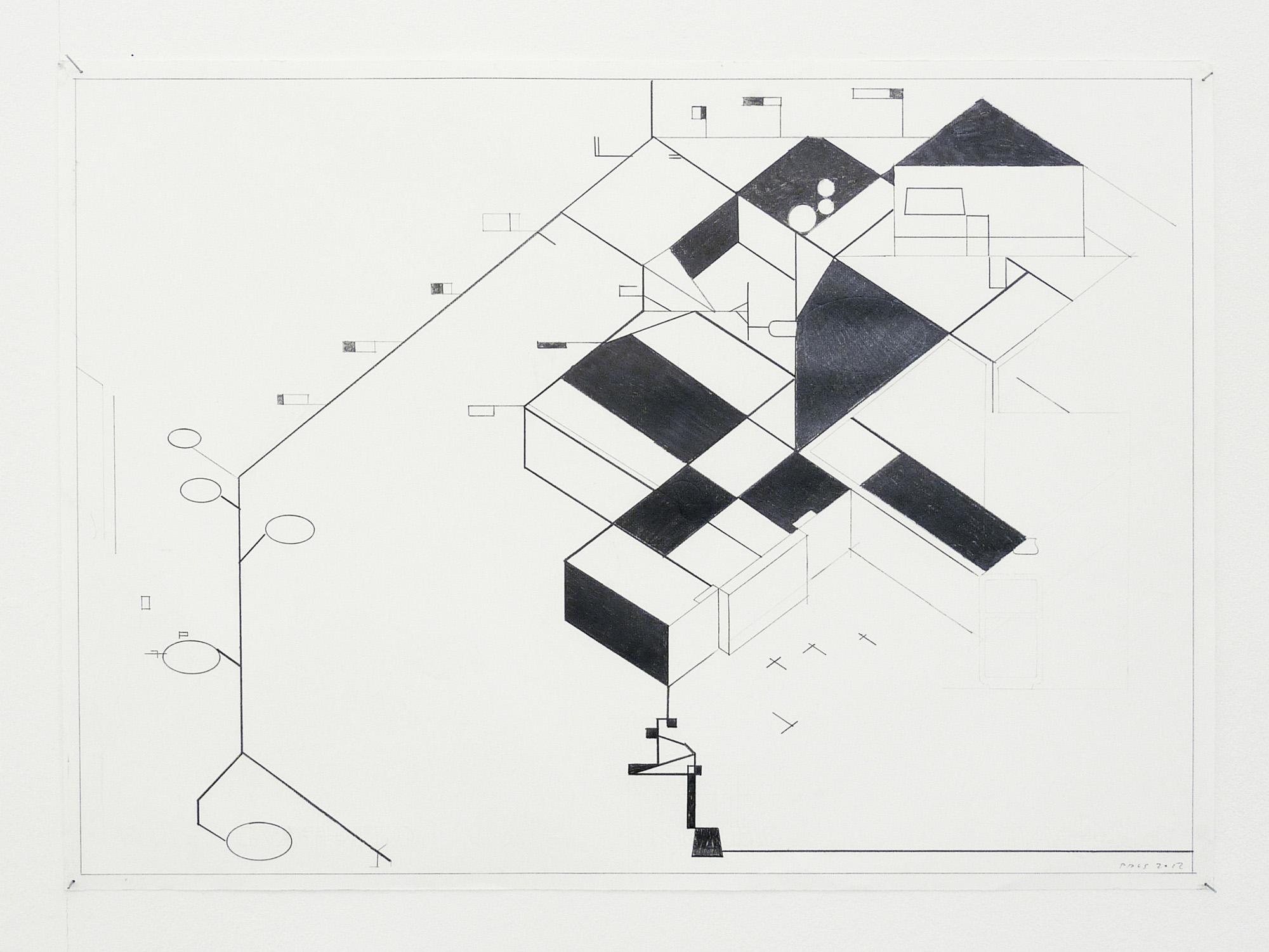 o.T.; 2012; 50 x 70 cm