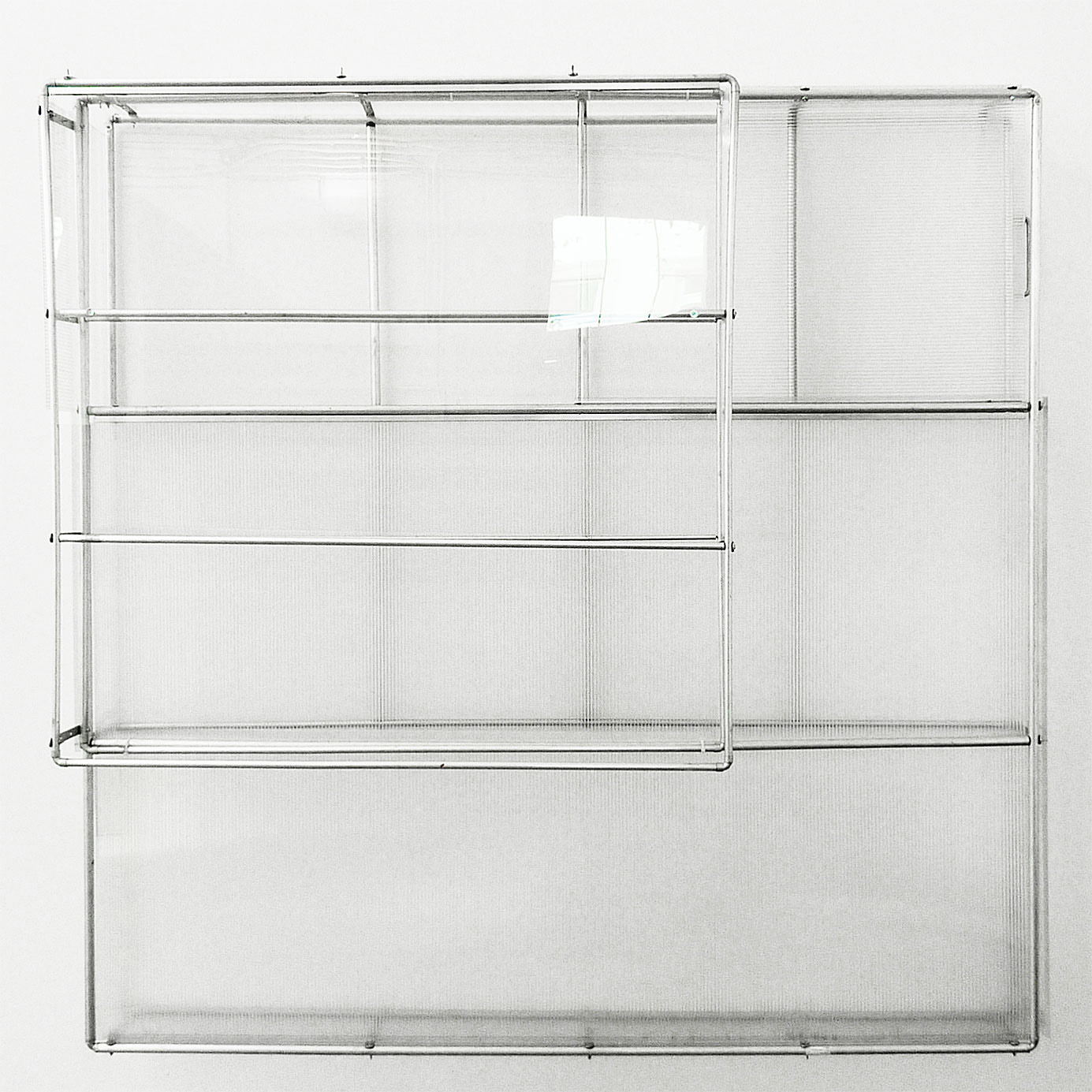"""cage for lazy species"" 2012; 100 x 160 cm"
