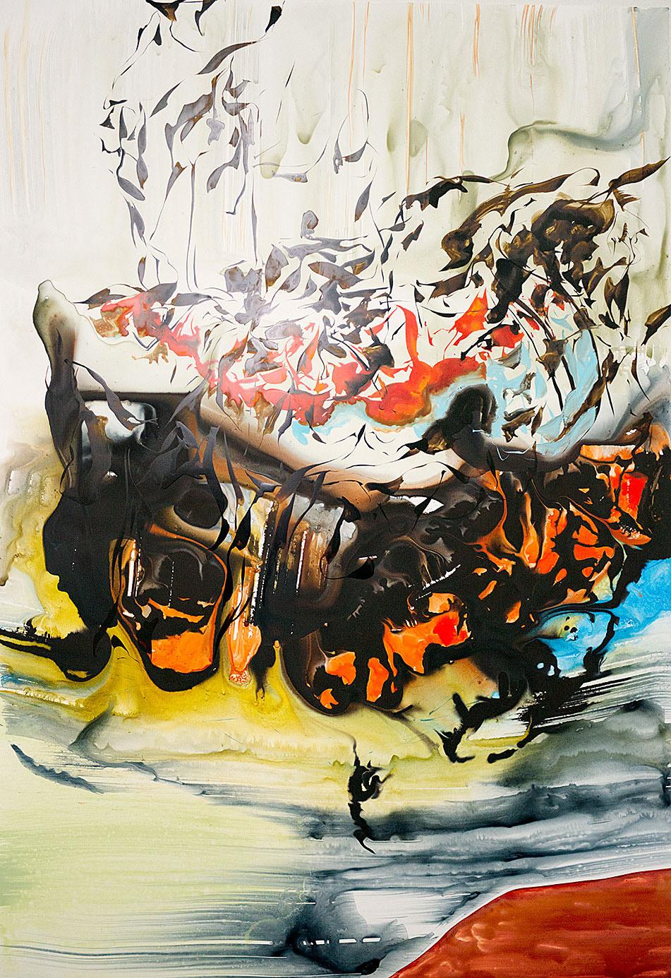 """""""Undertow of Pleasure"""", 2014; 100 x 70 cm"""