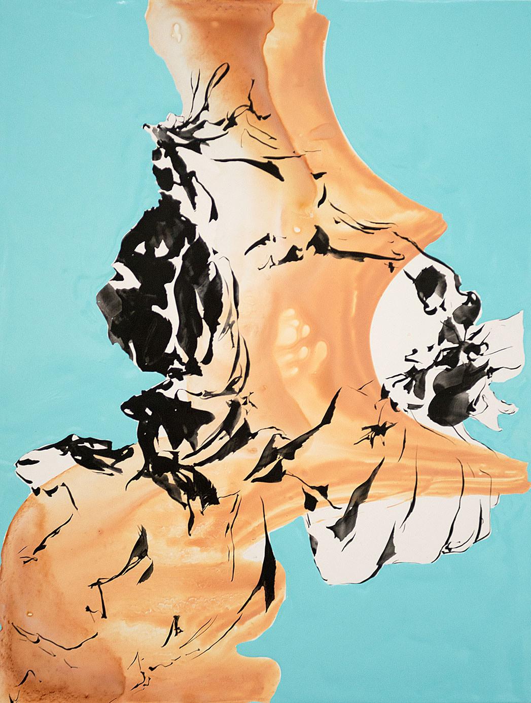"""""""Ribin`s Fall"""", 2013; 30 x 23 cm"""