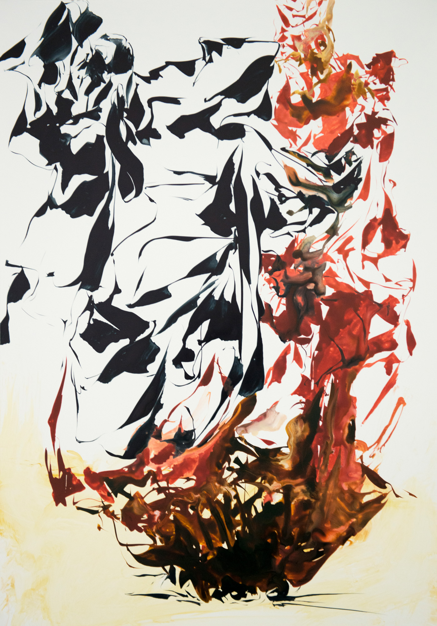 Snagged; 2014; 70 x 50 cm
