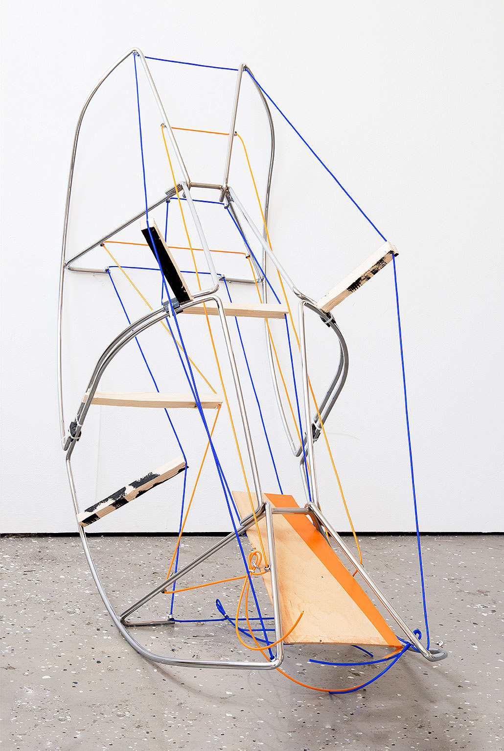 """bow"" 2012; 114 x 52 x 124 cm"