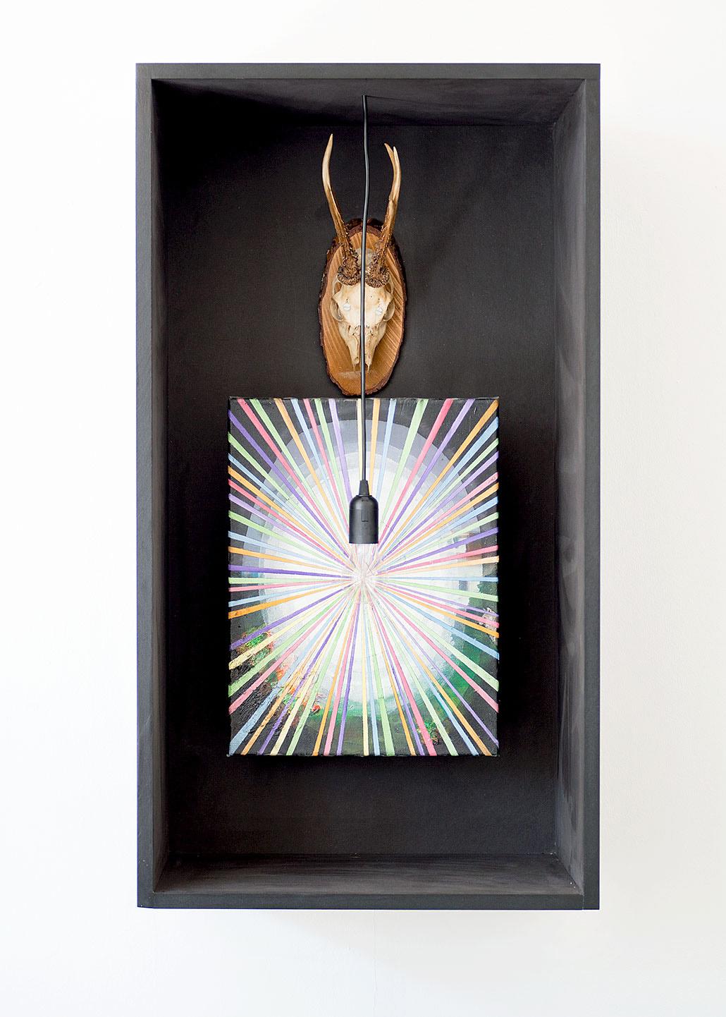 """""""Das Unaufhörliche"""" 2015; 100 x 50 x 40 cm"""