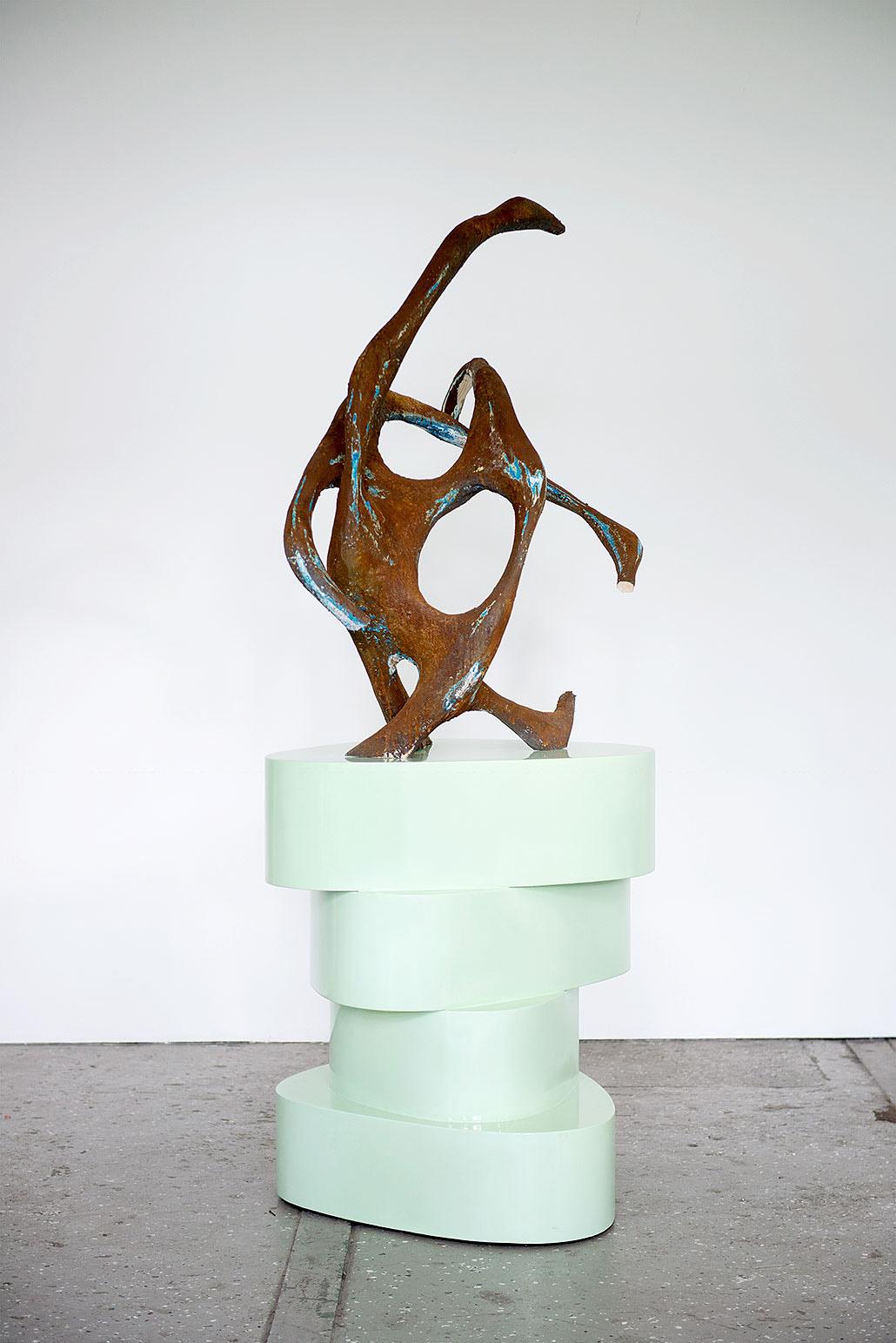 """""""Hadar"""" 2015; 190 x 95 x 95 cm"""