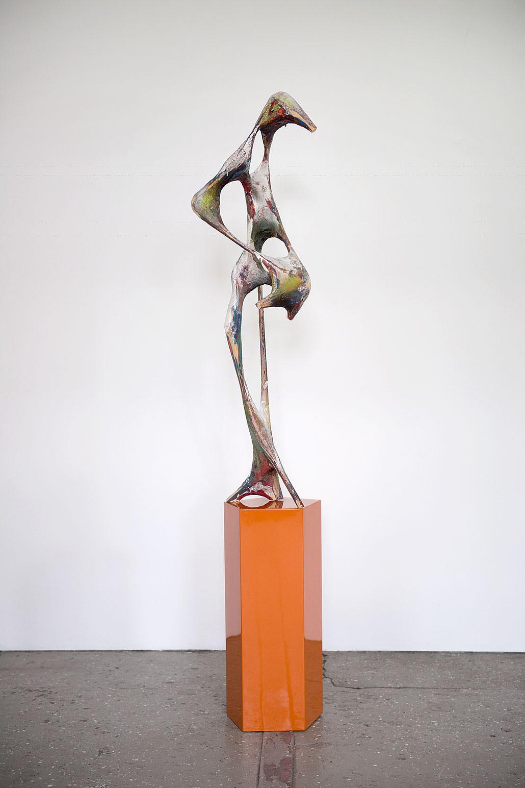 """Zosma"" 2010; 220 x 45 x 40 cm"