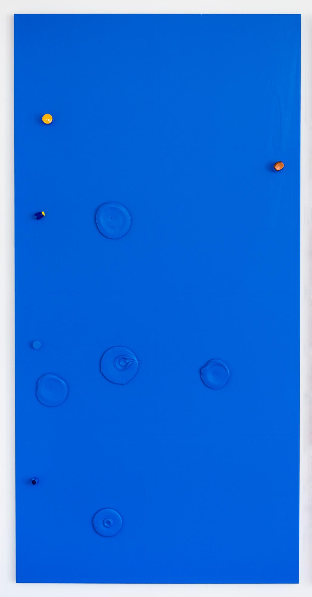 Colour Garden 1; 2015; 200 x 100 cm