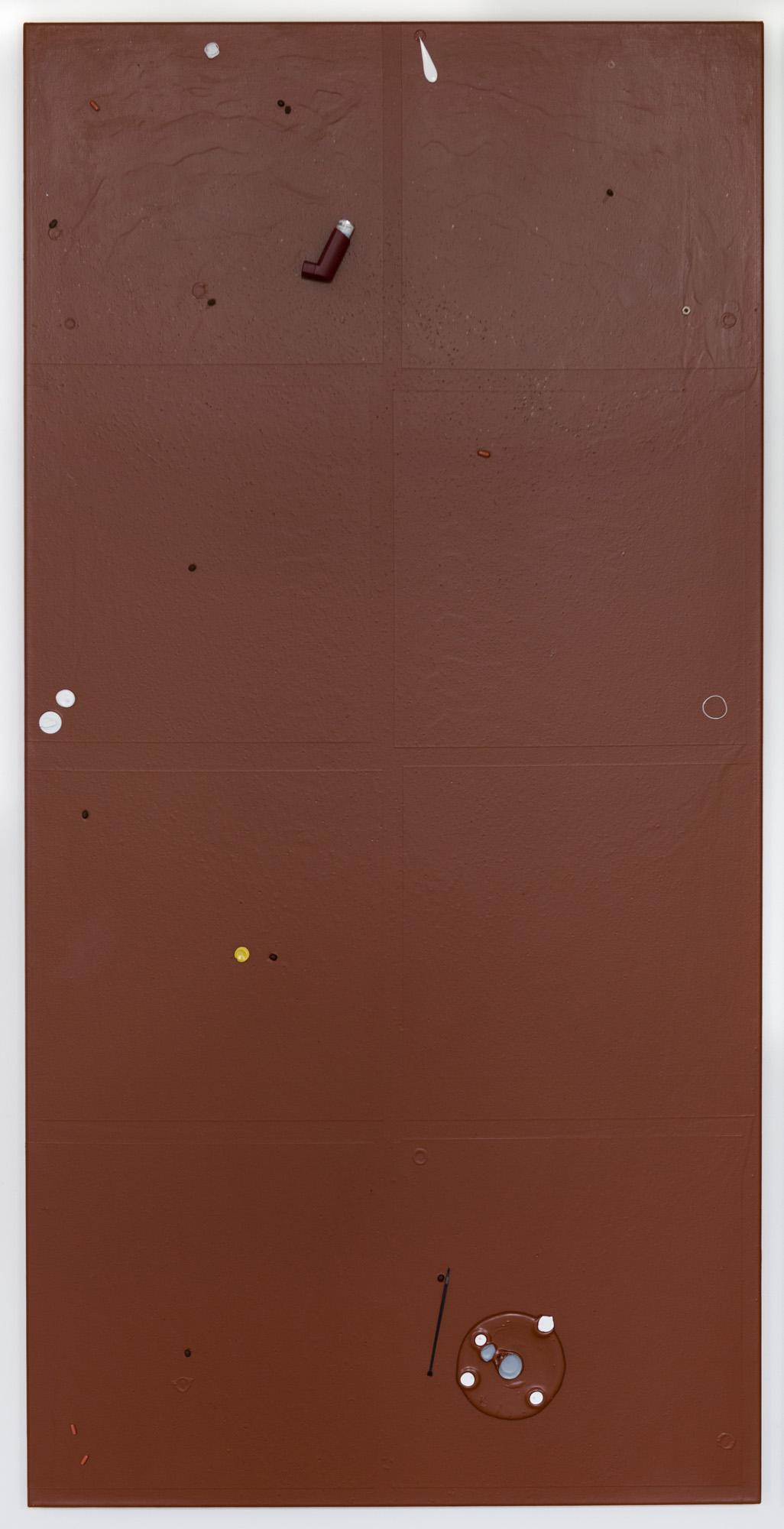 Colour Garden 5; 2015; 200 x 100 cm