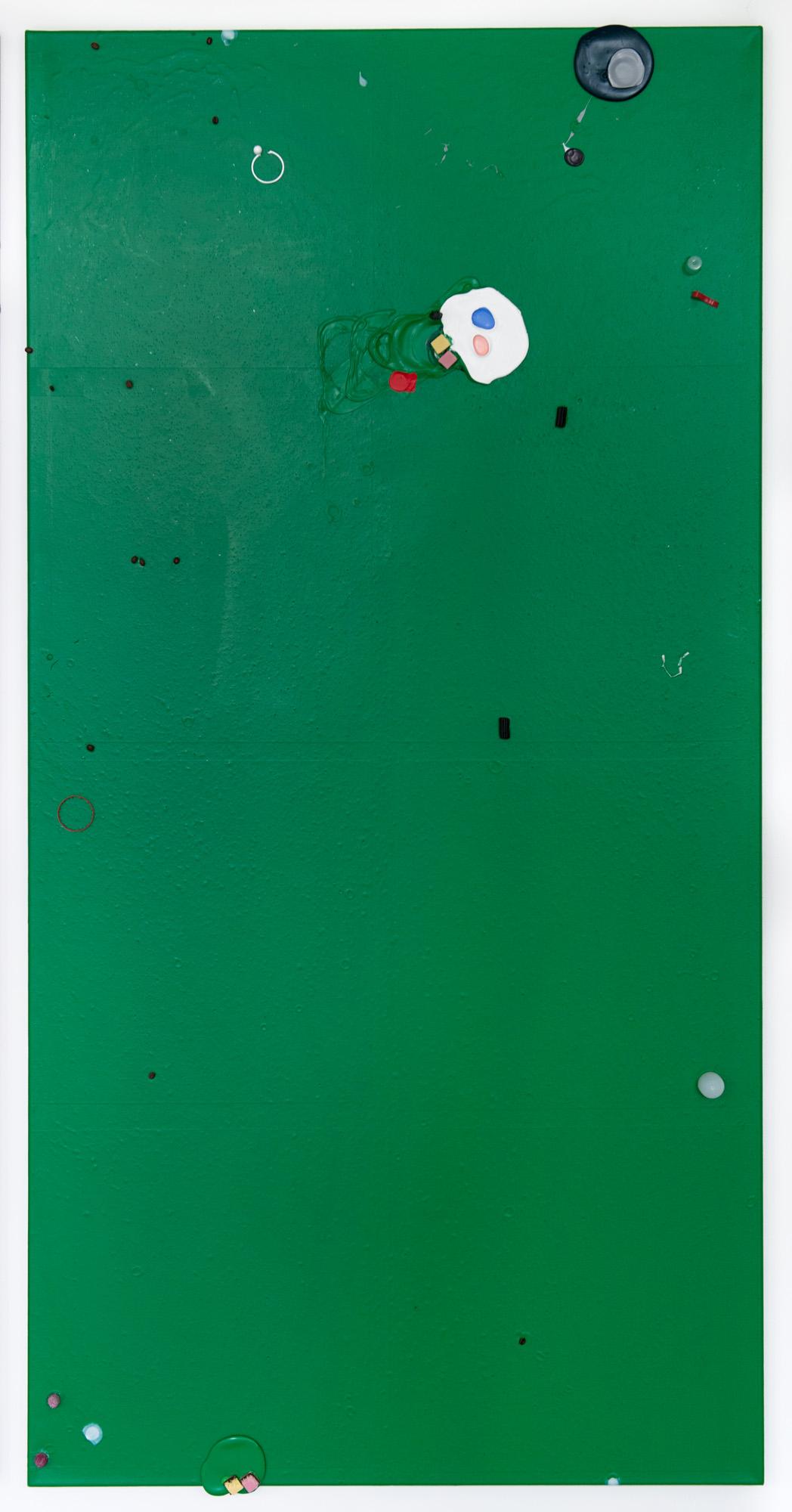 Colour Garden 6; 2015; 200 x 100 cm