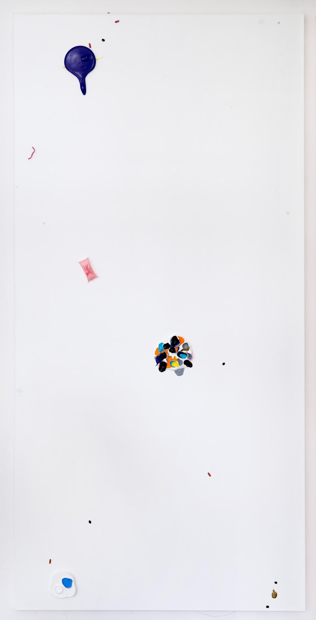 Colour Garden 7; 2015; 200 x 100 cm