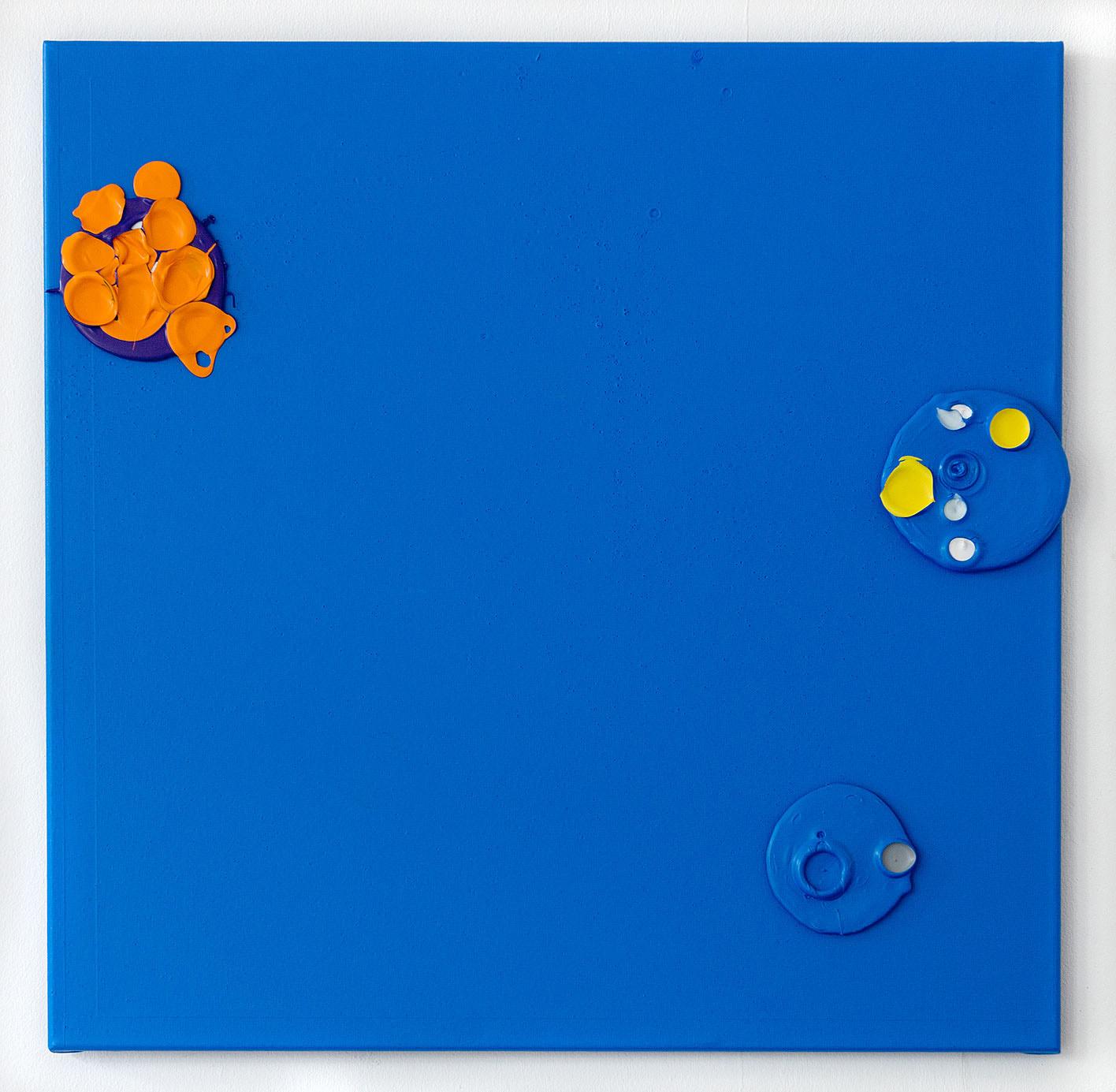 """""""Colour Garden 9"""" 2015; 80 x 80 cm"""