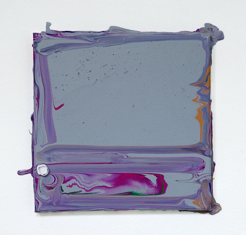 """""""Vermahlung 68"""" 2013; 30 x 30 cm"""