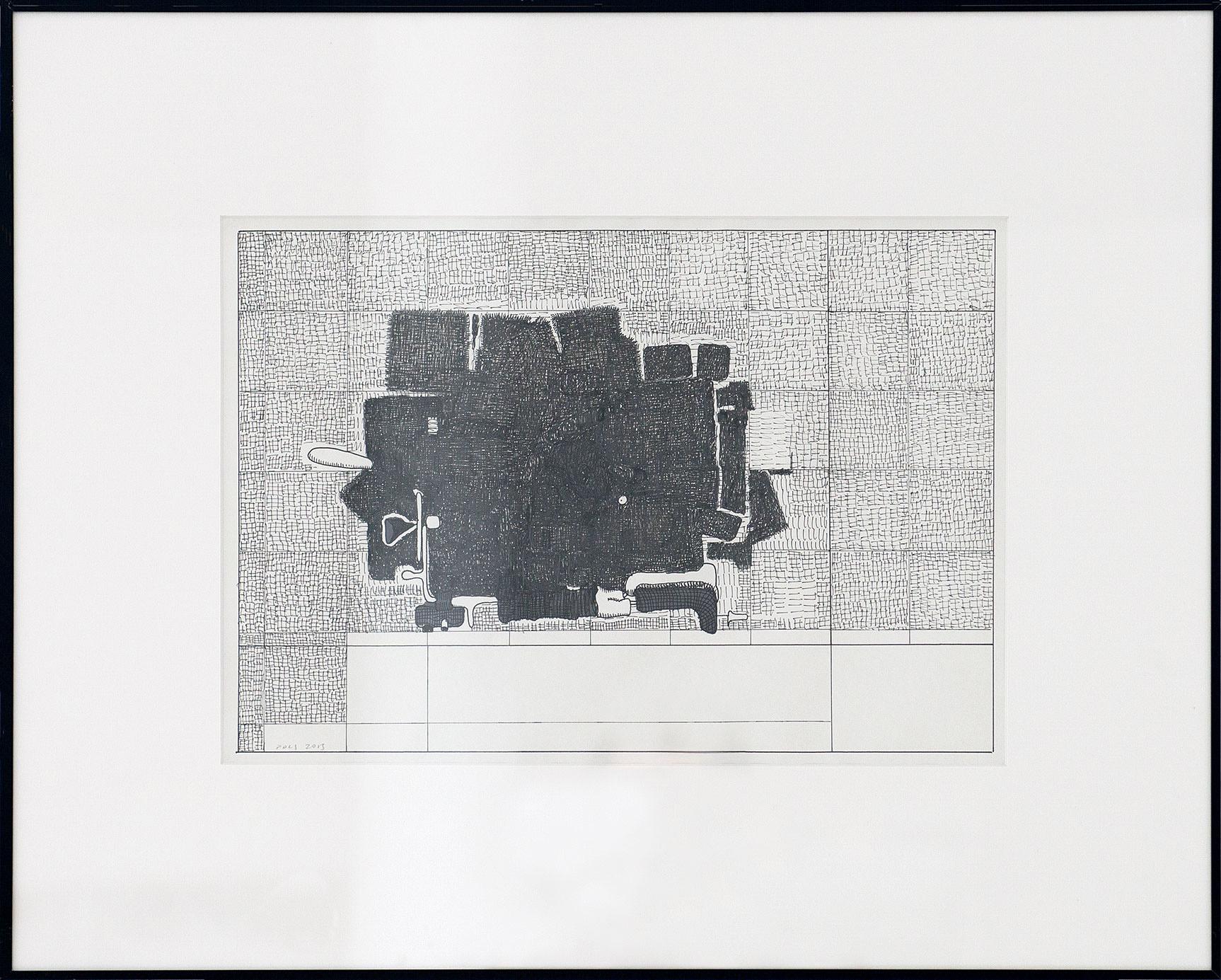Horizontal Efforts Series; 2013; 51 x 63 cm