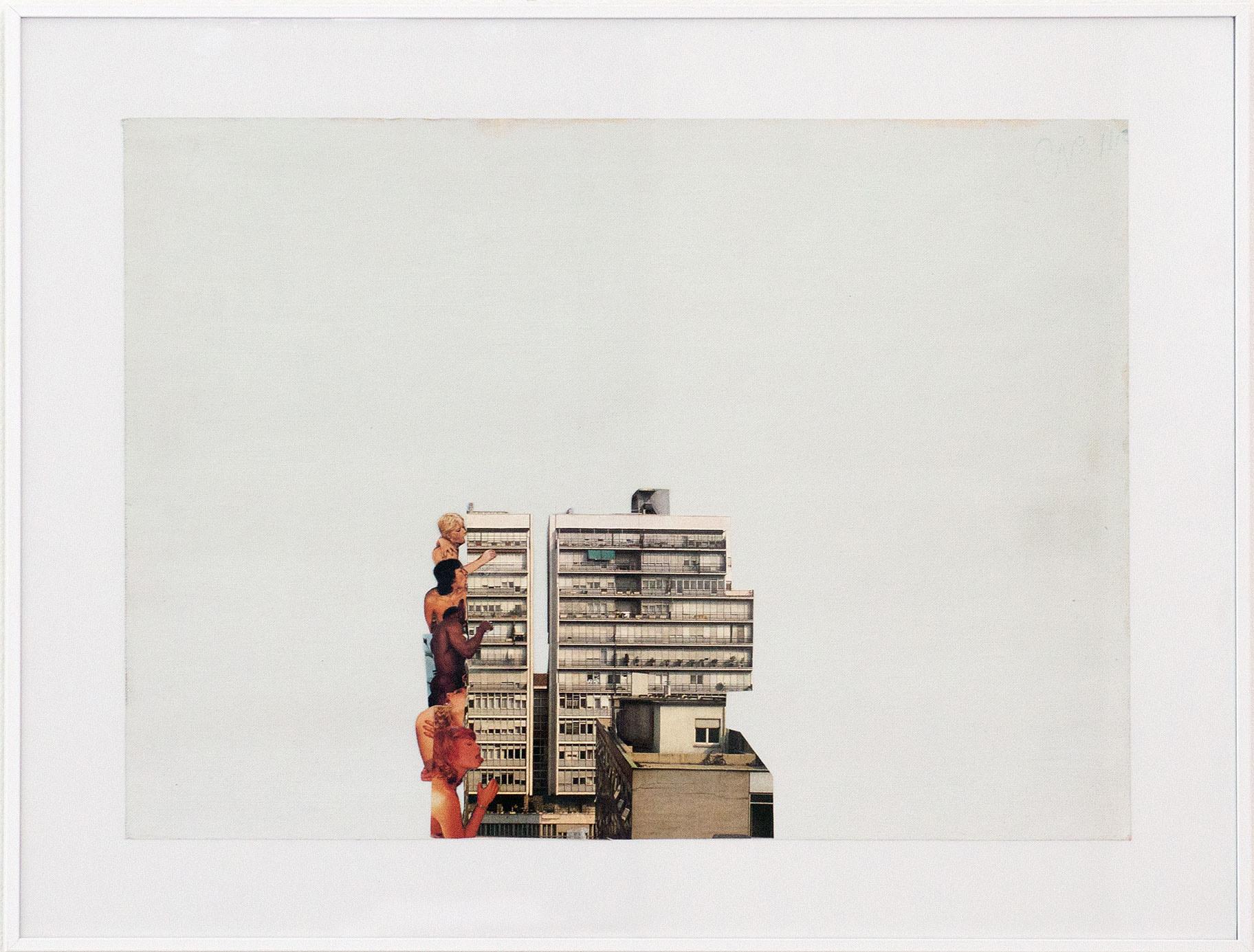 """Building Lickers"" 2015; 39 x 51 cm"