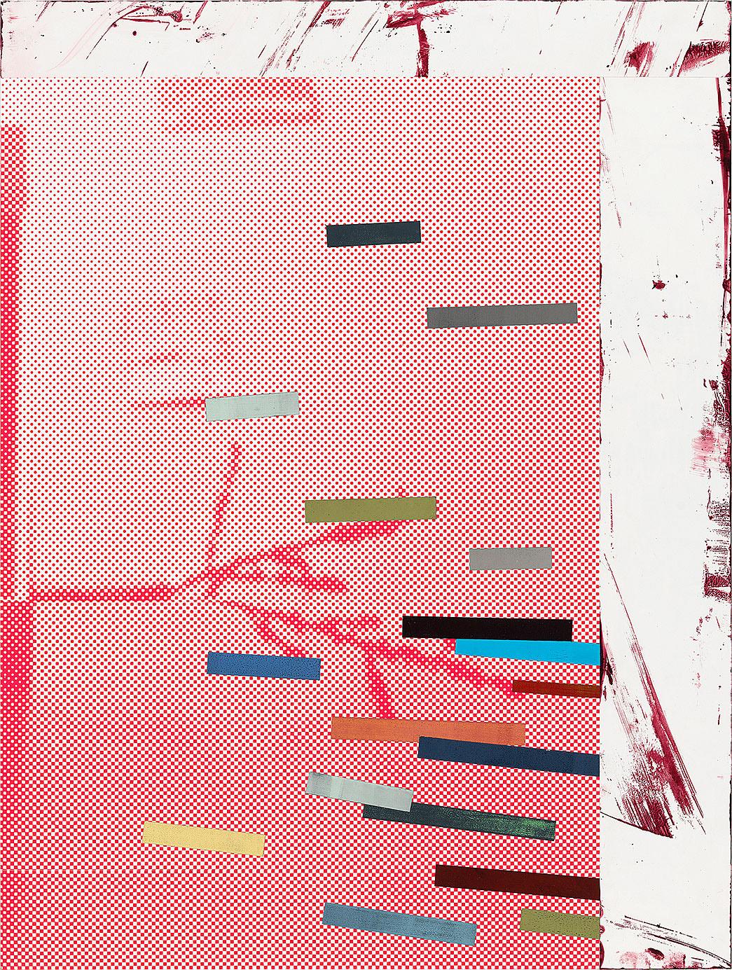 """""""Seeker/ Scrounger"""" 2016; 61 x 45 cm"""