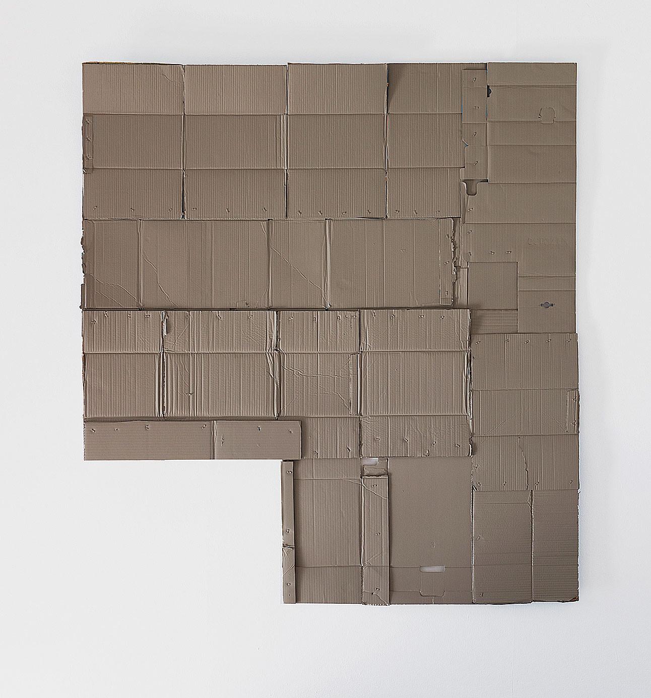 o.T._2017 Lack_Papp_177 x 158 cm