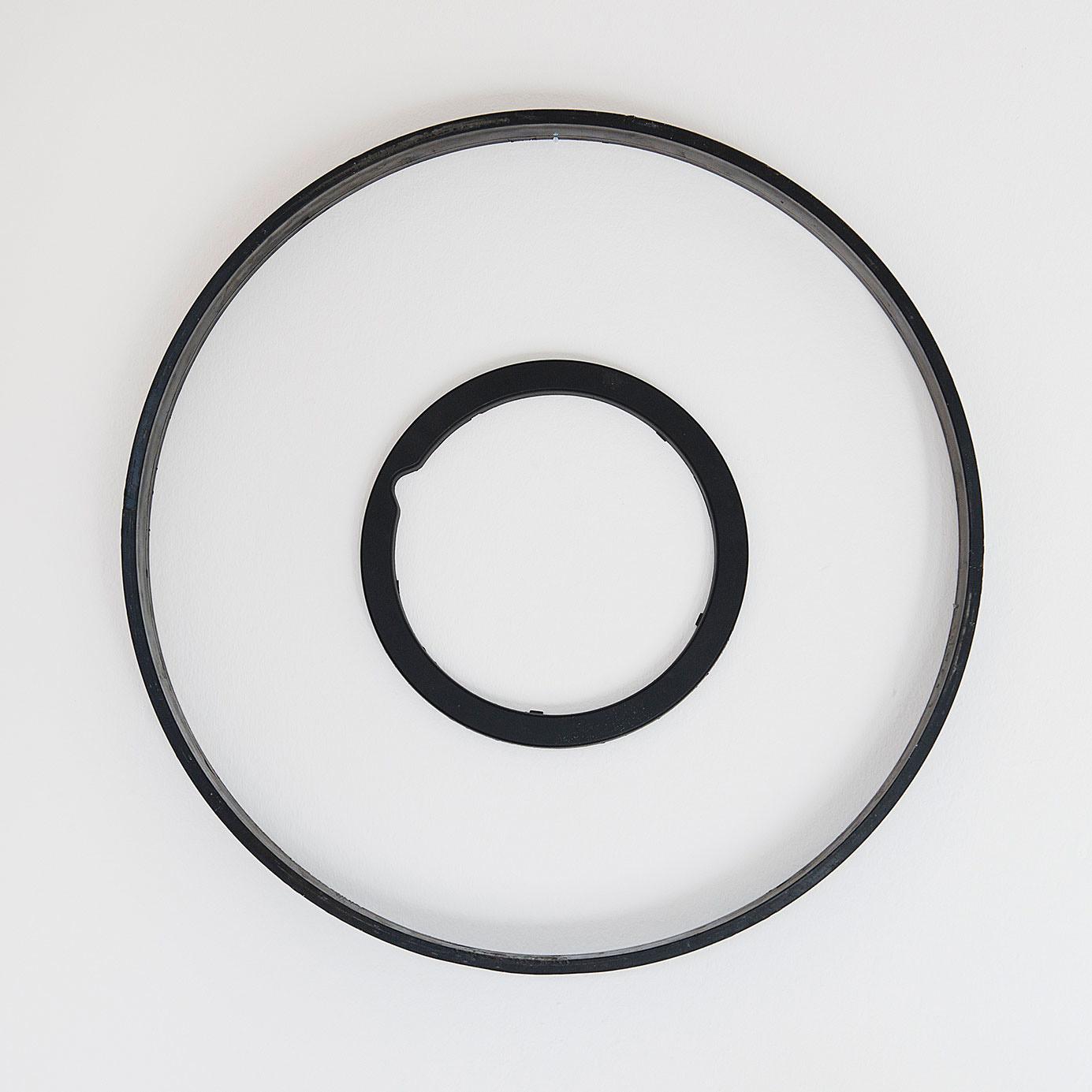 o.T._2016/17 Lack_Kunststoff_53 x 53 cm
