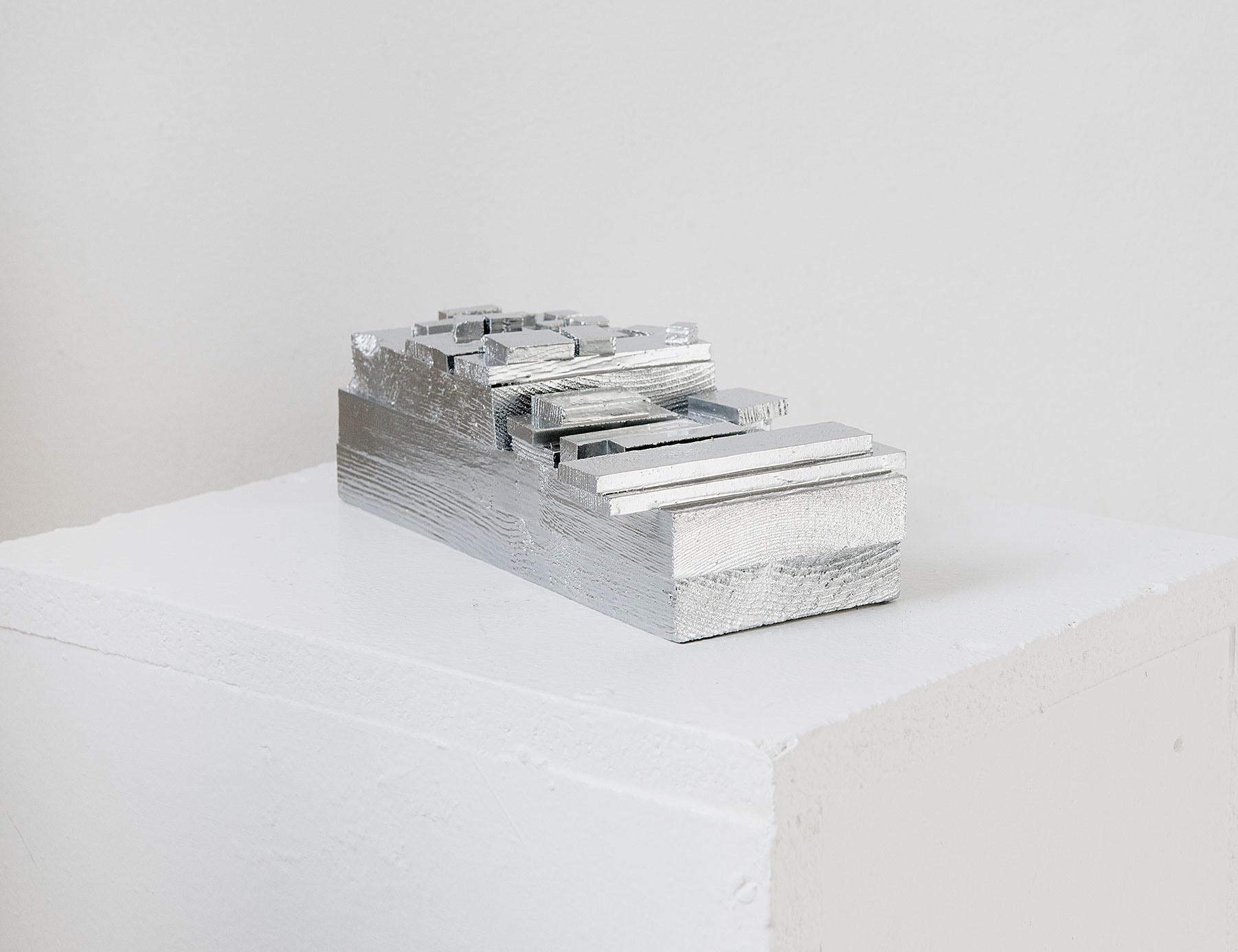 o.T._2017 Lack_Holz_7 x 20 x 10 cm