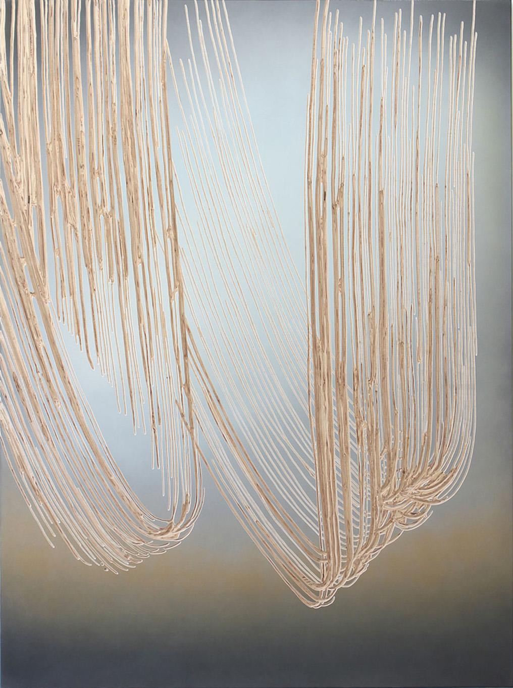 2017 o.T.  190 x 140 x 4 cm  fade broom