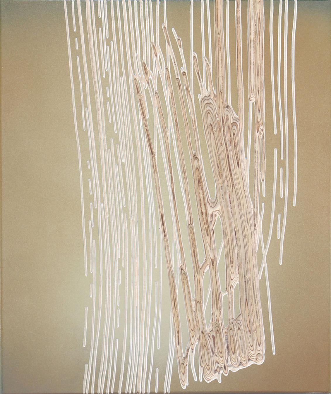 2017 oT  57 x 48 x 4 cm fade broom