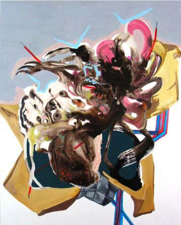 Hardwired; 2008; 123 x 153 cm