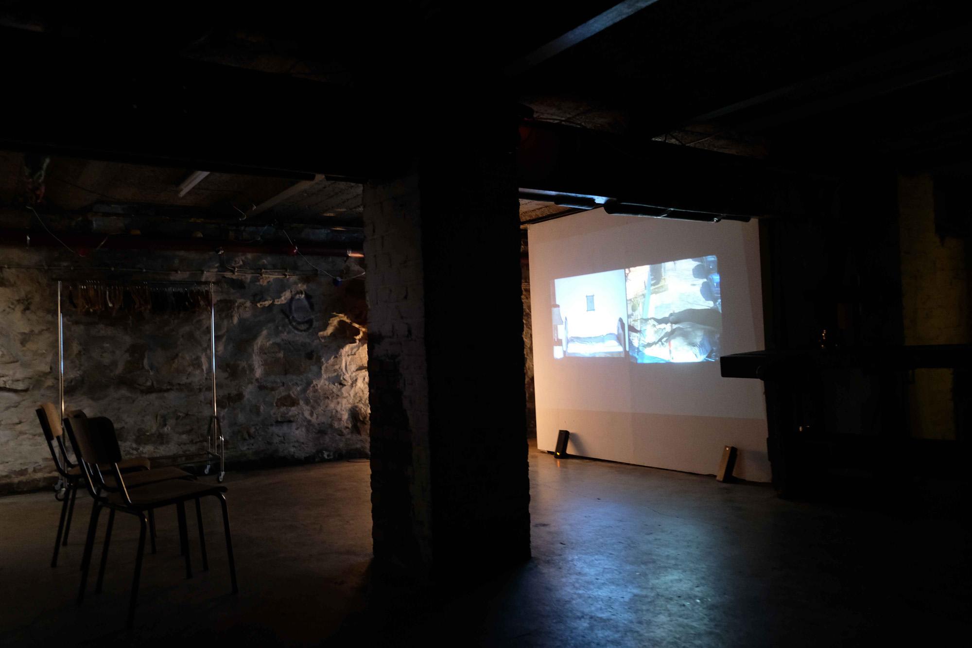 Doris Schmid_videoistallation_basement