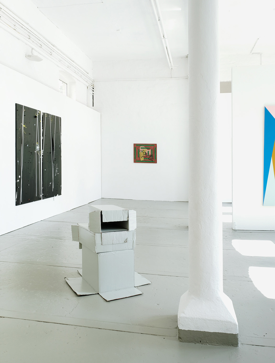 Bert Didillon, Klaus-Martin Treder, Jonathan Lasker