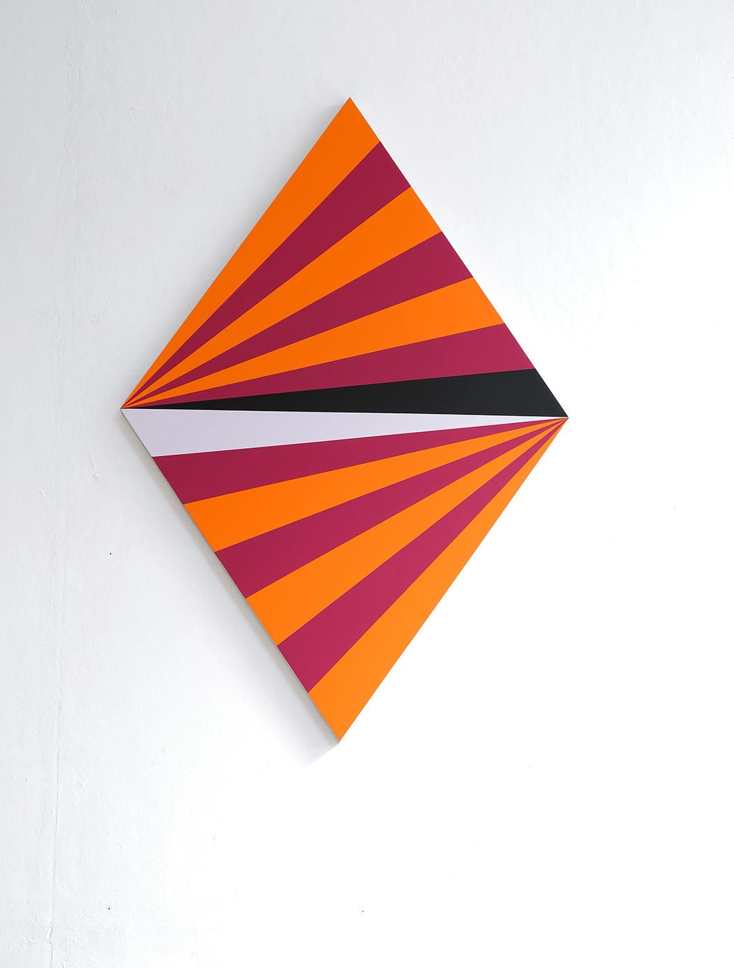 Lothar Götz, acryl on canvas