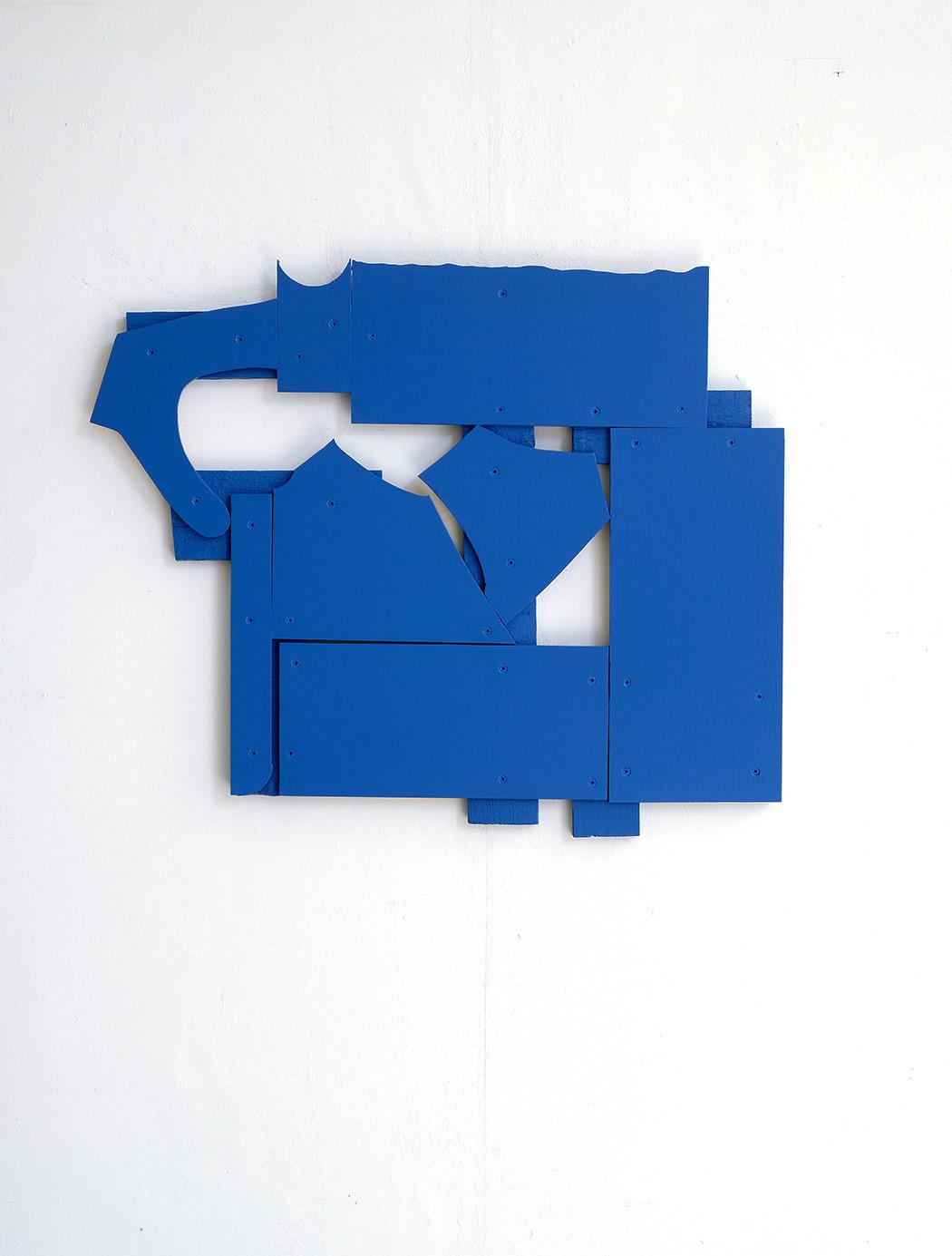 Bert Didillon, acryl  on wood
