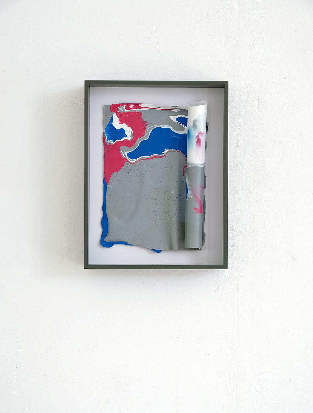 Klaus-Martin Treder, acryl