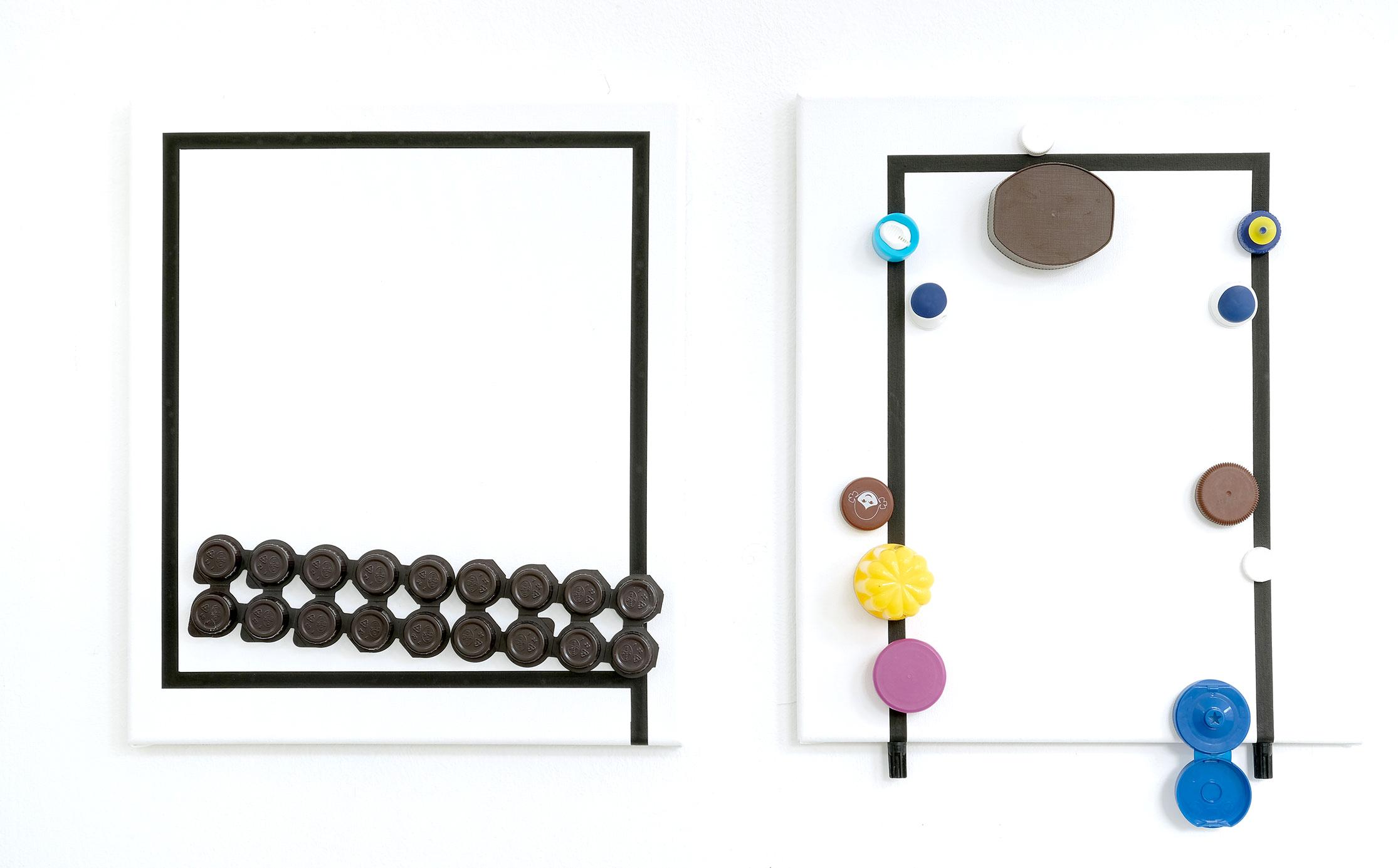 """Aus der Serie """"Dinge"""" 2020 ;48 x 41,5 cm"""