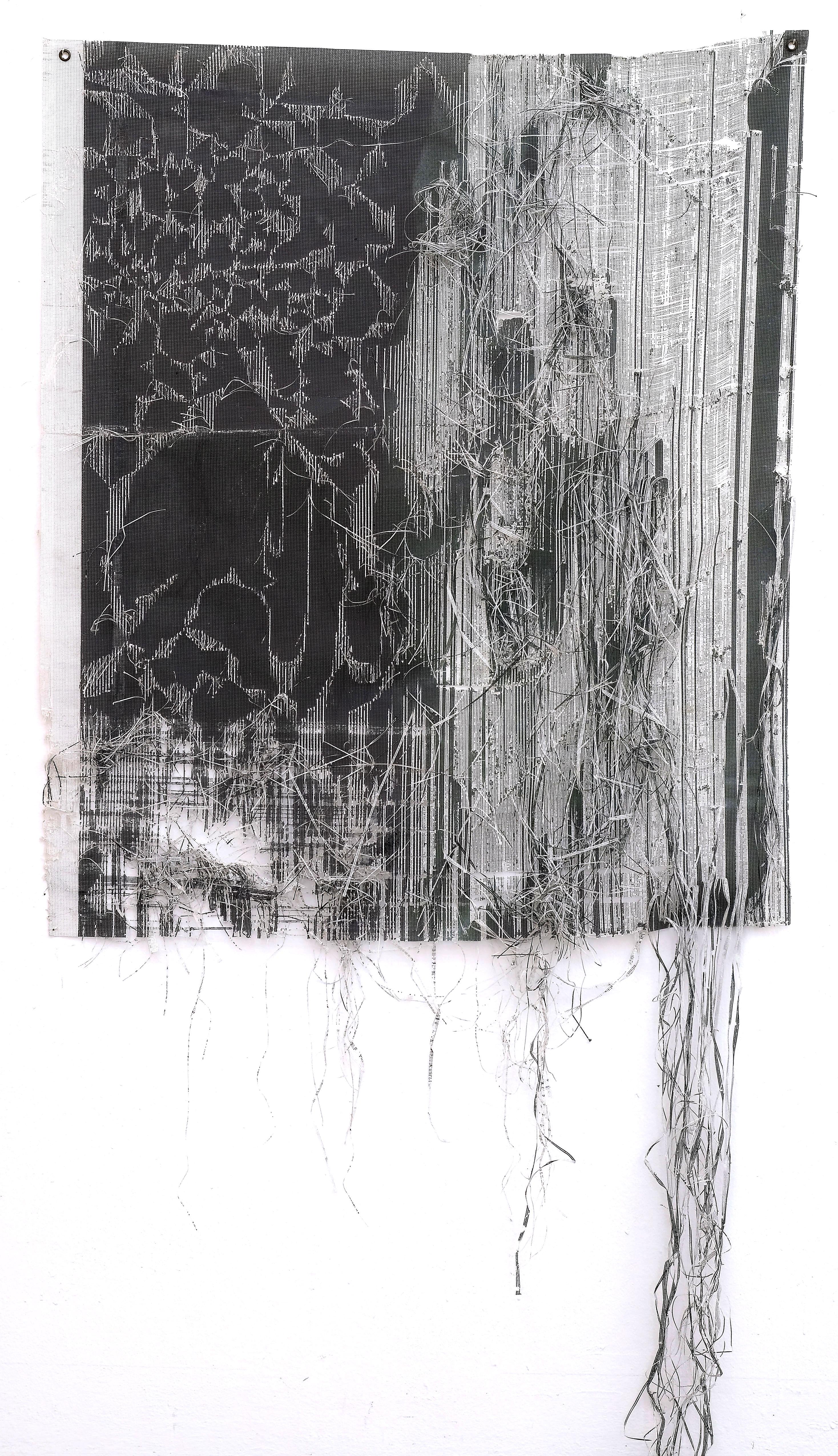 o.T. 2018; 132 x 112 cm