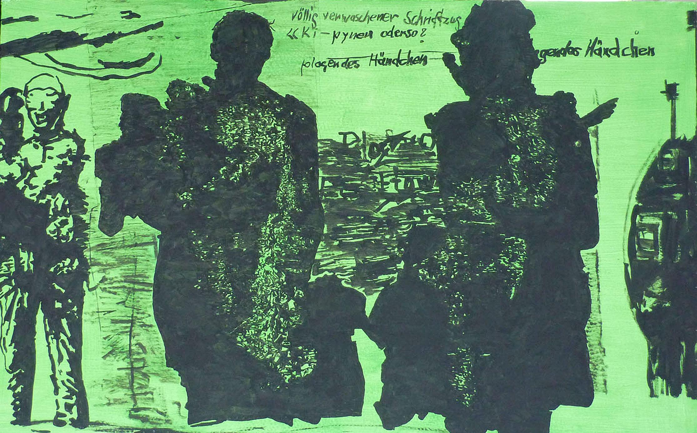 """""""Plagendes Händchen"""", 2009"""