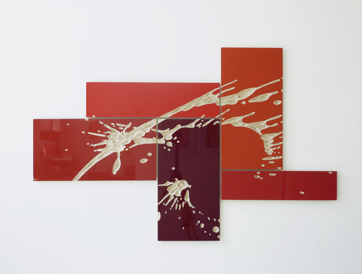 """o.T."" 2013; 110 x 170 cm"
