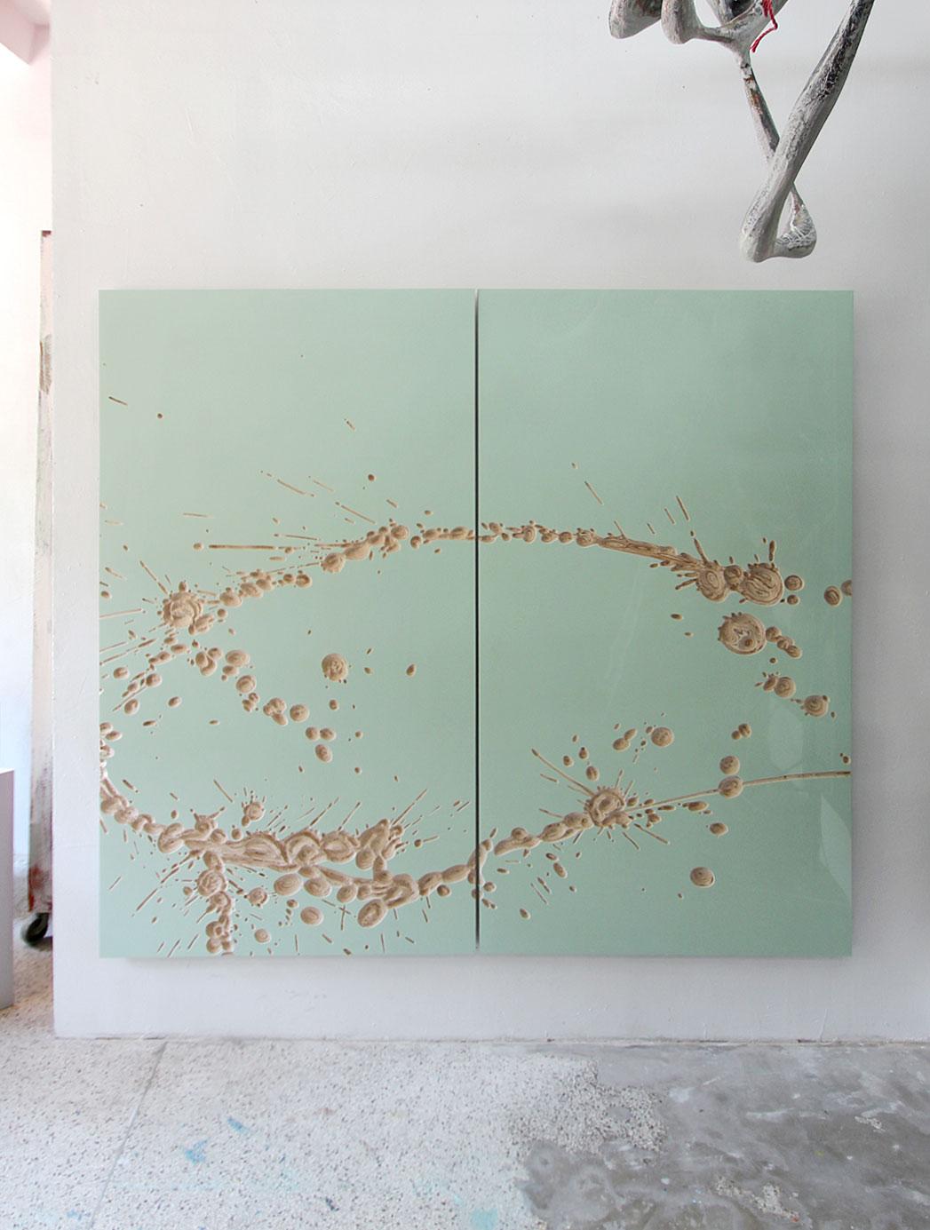 """o.T. "" 2014 210 x 240 cm"