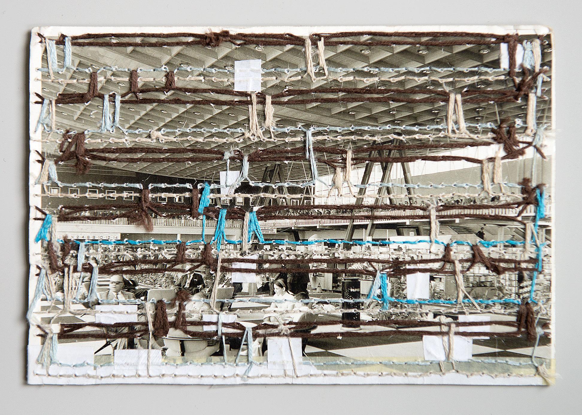 """Customs Hall"" 2015; 10 x 14,5 cm"