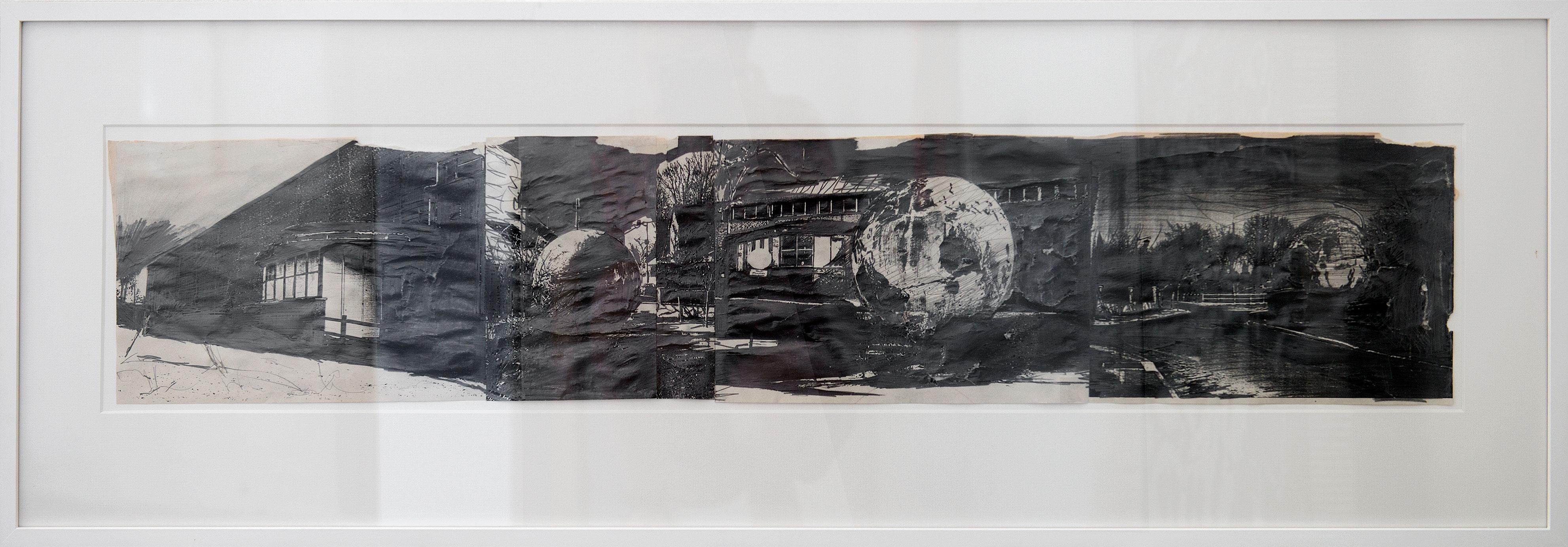 """""""Garniola"""" 2007, 40 x 120 cm"""
