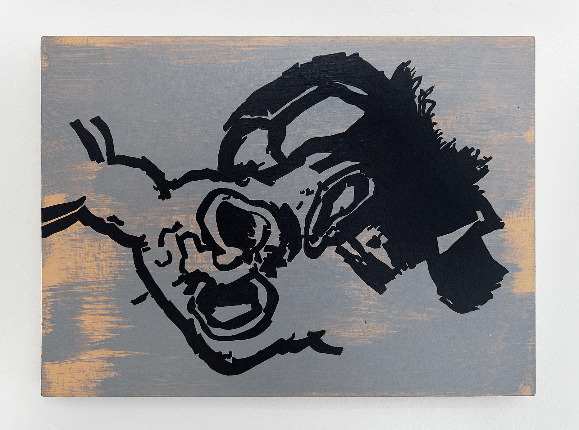 """""""Vorfrunse 7"""" 2016, 50 x 69 cm"""