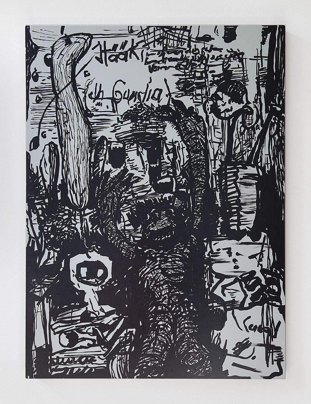 """""""Vorfrunse 10"""" 2016, 125 x 90 cm"""