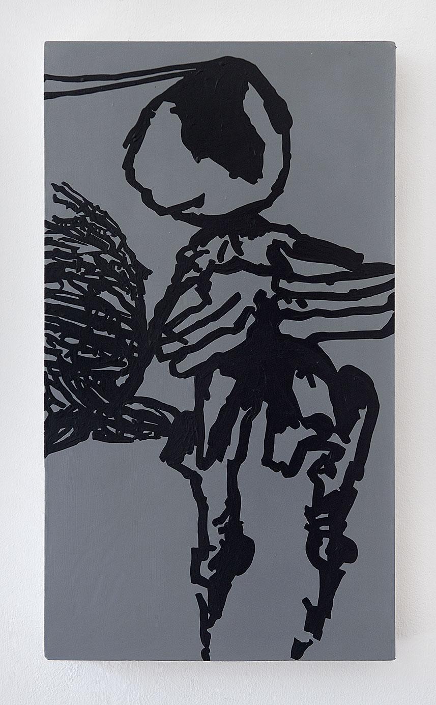 """""""Vorfrunse 6"""" 2016, 60 x 34,5 cm"""