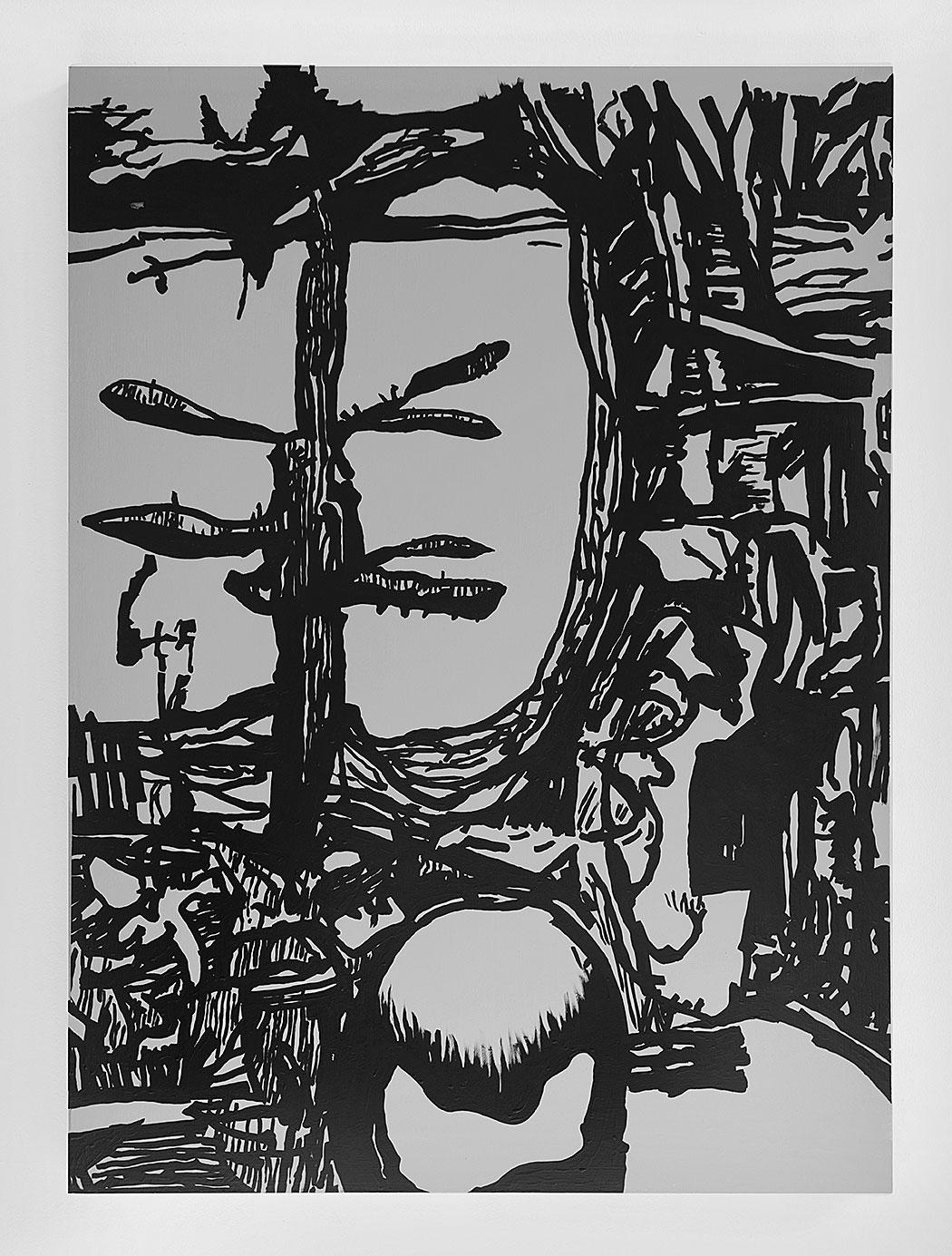 """""""Vorfrunse 8"""" 2016, 125 x 90 cm"""