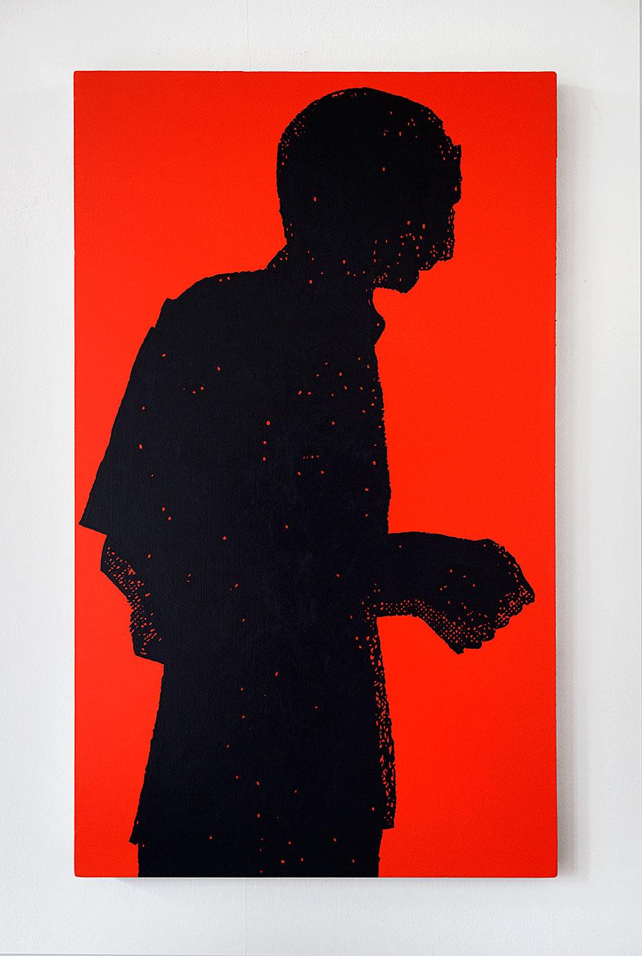 """""""Vorfrunse 9"""" 2016, 105 x 63 cm"""